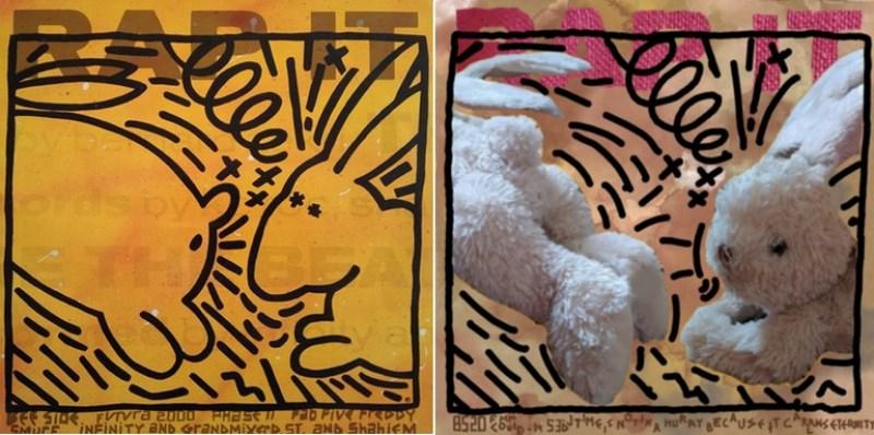 Keith Haring revu par Fabiola-Miriam D 5ème [800x600]