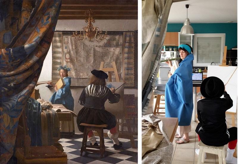 Vermeer dans ma cuisine [800x600]